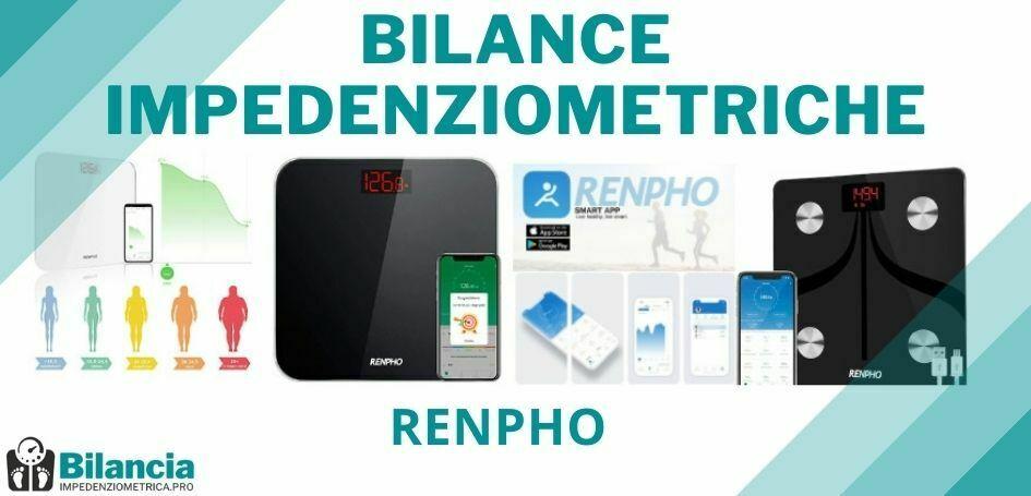 Bilance impedenziometriche Renpho