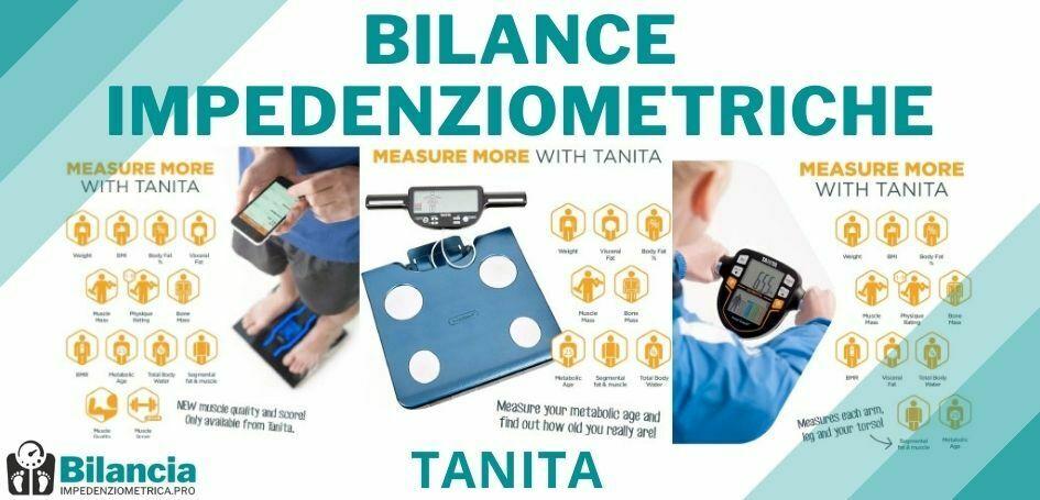 Bilance impedenziometriche Tanita